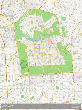 Adelaide, Australia Map