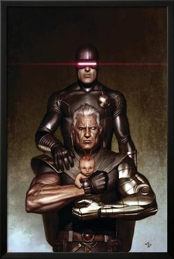 Cable No.6 Cover: Cyclops and Cable by Adi Granov