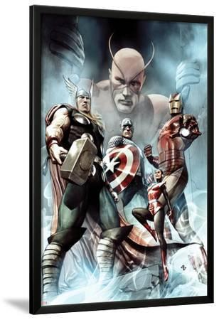 Captain America: Hail Hydra No.2 Cover: Thor, Iron Man, Captain America, and Wasp