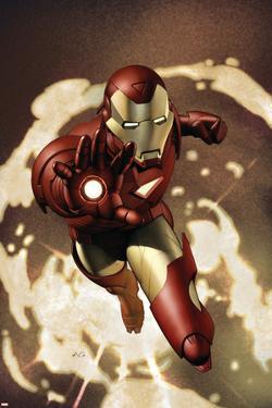 Iron Man No.4 Cover: Iron Man by Adi Granov