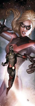 Thunderbolts No.141 Cover: Ant-Man and Stature