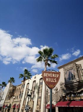 Beverly Hills Sign, Beverly Hills, California, USA by Adina Tovy