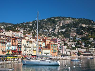 Colourful Buildings, Villefranche, Alpes-Maritimes, Provence-Alpes-Cote D'Azur, French Riviera