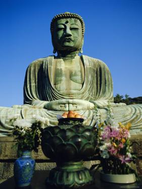 Giant Buddha in Kamakura, Japan by Adina Tovy