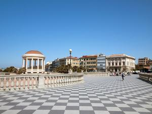 Mascagni Terrace (Terrazza Mascagni), Livorno, Tuscany, Italy, Europe by Adina Tovy