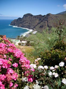 Mountain Landscape, La Gomera, Canary Islands, Spain, Atlantic, Europe by Adina Tovy