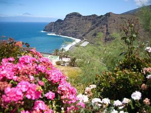Mountain Landscape, La Gomera, Canary Islands, Spain. Atlantic, Europe by Adina Tovy
