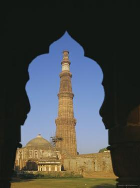 Qutb Minar, Delhi, India, Asia by Adina Tovy