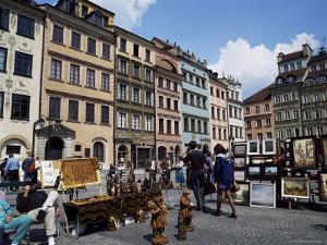 Starezawasto (Old Town Square), Warsaw, Poland by Adina Tovy