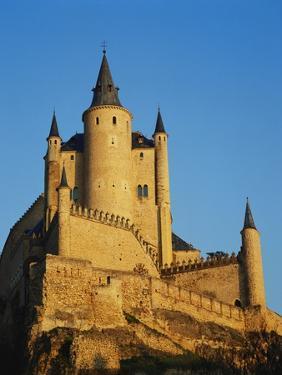 The Alcazar, Segovia, Spain by Adina Tovy