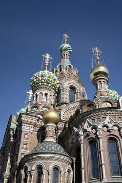 The Church of Spilled Blood, UNESCO World Heritage Site, St. Petersburg, Russia by Adina Tovy