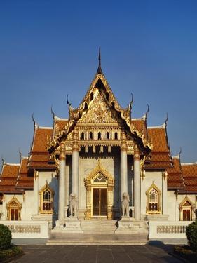Wat Benchamabophit Dusitwanaram, Bangkok, Thailand by Adina Tovy