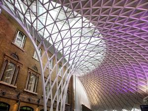 Western Concourse of King's Cross Station, London, England, United Kingdom, Europe by Adina Tovy