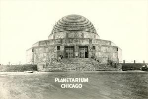 Adler Planetarium under Construction