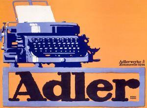 Adler Typewriter