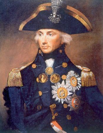 Admiral Horatio Nelson, Portrait from the National Maritime Museum in London by Lemuel Abbott, 1798