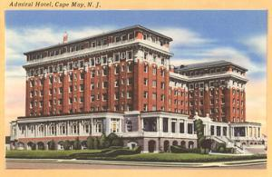 Admiral Hotel, Cape May, New Jersey