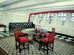 Admiral Nelson's Day Cabin in the H.M.S. Victory
