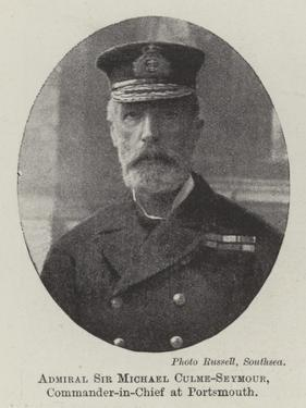 Admiral Sir Michael Culme-Seymour, Commander-In-Chief at Portsmouth