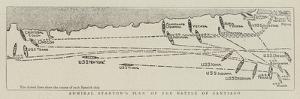Admiral Stanton's Plan of the Battle of Santiago