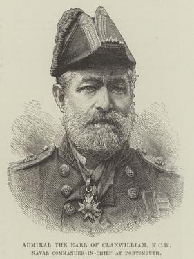 Admiral the Earl of Clanwilliam, Kcb, Naval Commander-In-Chief at Portsmouth