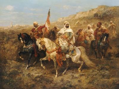A Regal Procession