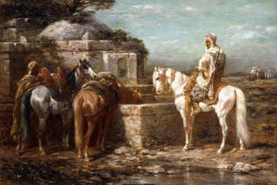At the Well, 19th Century