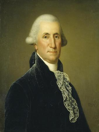 George Washington, 1795 by Adolf Ulrich Wertmuller