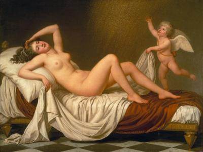 Danaë and the Shower of Gold, 1787 by Adolf Ulrik Wertmüller