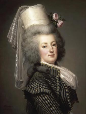 Portrait of Queen Marie Antoinette of France (1755-179) by Adolf Ulrik Wertmüller
