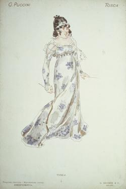 Costume Design in 'Tosca' by Adolfo Hohenstein