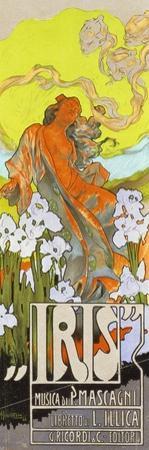 Iris by Adolfo Hohenstein