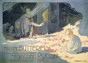 Madame Butterfly 1904 by Adolfo Hohenstein