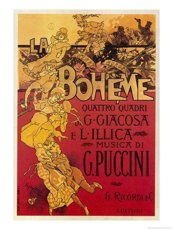 Puccini, La Boheme