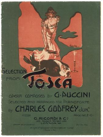 Tosca, the Death of Scarpia by Adolfo Hohenstein