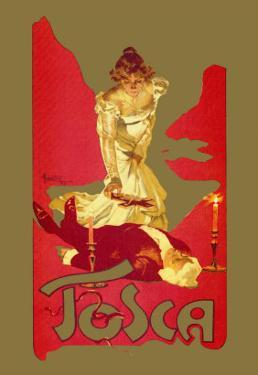 Tosca by Adolfo Hohenstein
