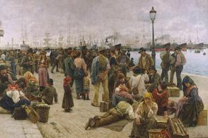 Emigrants by Adolfo Tommasi