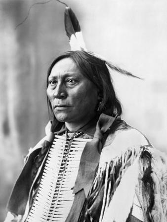 Sioux Chief, C1898 by Adolph F. Muhr