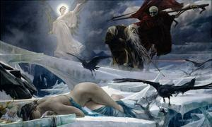 Ahasuerus at the End of the World by Adolph Hiremy-Hirschl