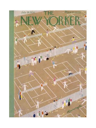 The New Yorker Cover - July 28, 1934