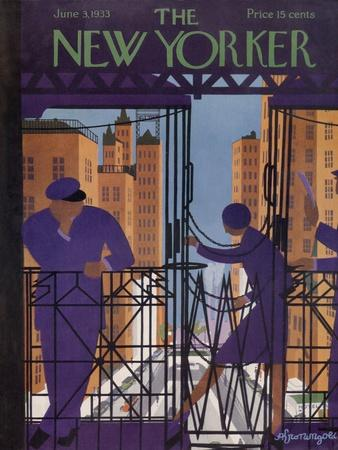 The New Yorker Cover - June 3, 1933