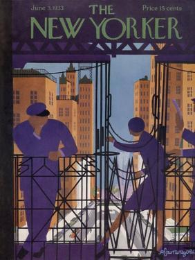 The New Yorker Cover - June 3, 1933 by Adolph K. Kronengold