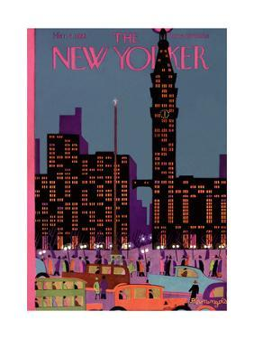 The New Yorker Cover - March 2, 1929 by Adolph K. Kronengold