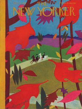 The New Yorker Cover - October 17, 1931 by Adolph K. Kronengold
