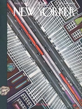 The New Yorker Cover - September 22, 1928 by Adolph K. Kronengold