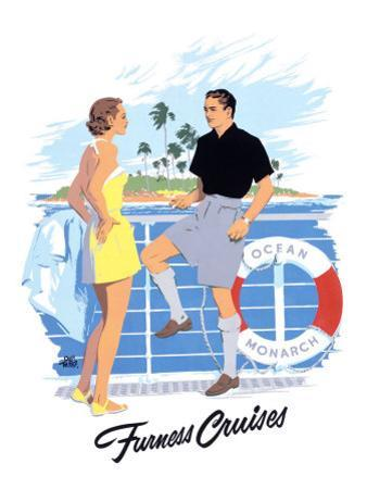 Furness Cruises by Adolph Treidler