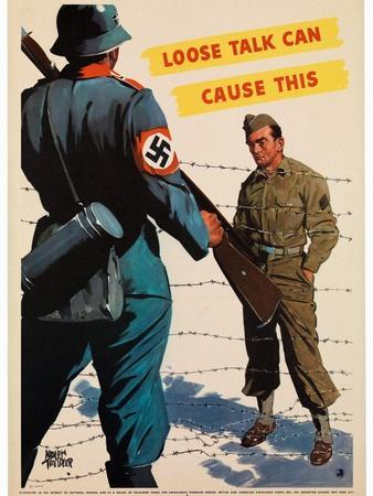Loose Talk Can Cause This, 1942