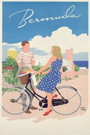 Poster Advertising Bermuda, c.1956