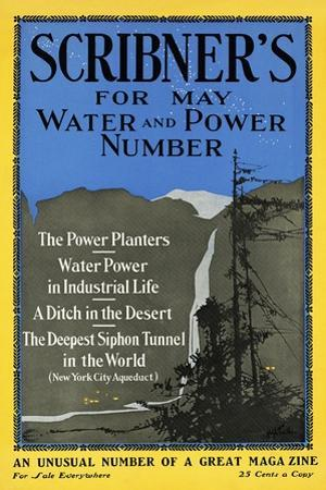 Scribner's for May, Water and Power Number by Adolph Treidler