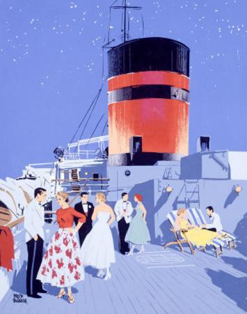 Starlit Nights, Luxury Cruises by Fumess by Adolph Treidler